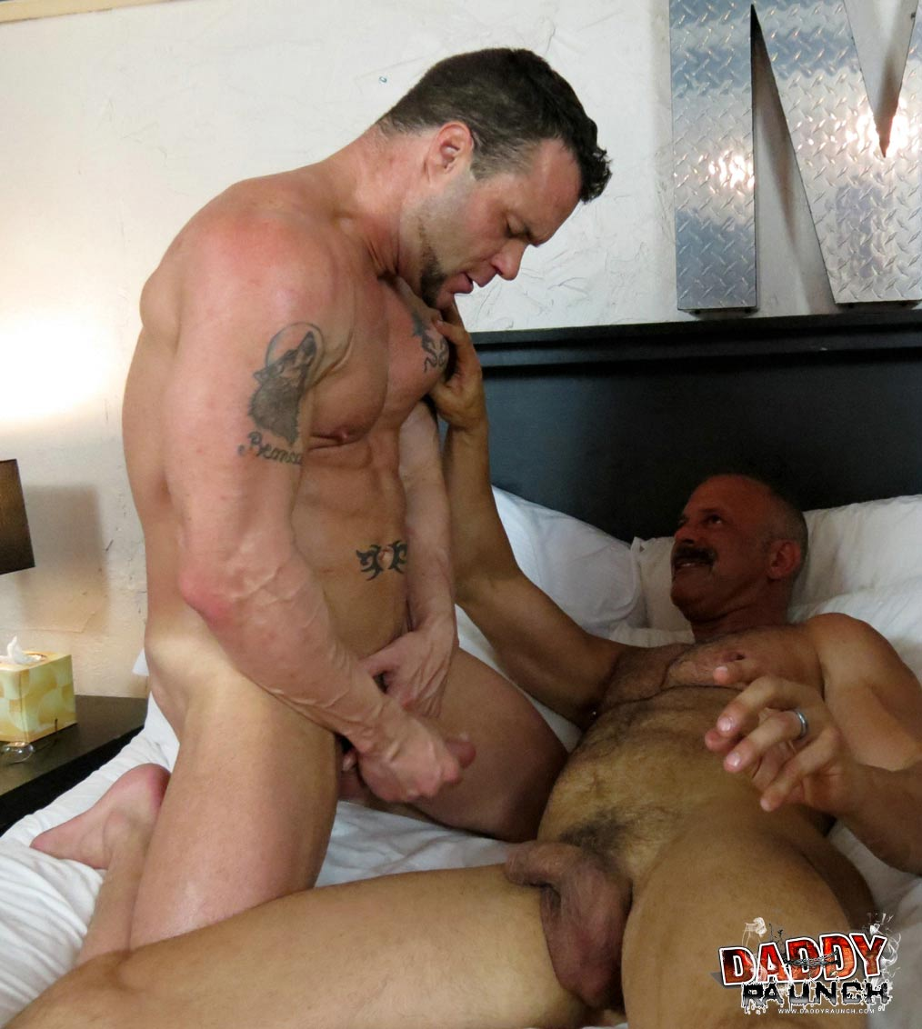 A Daddy Who Jumps A Teen Buddy Bareback