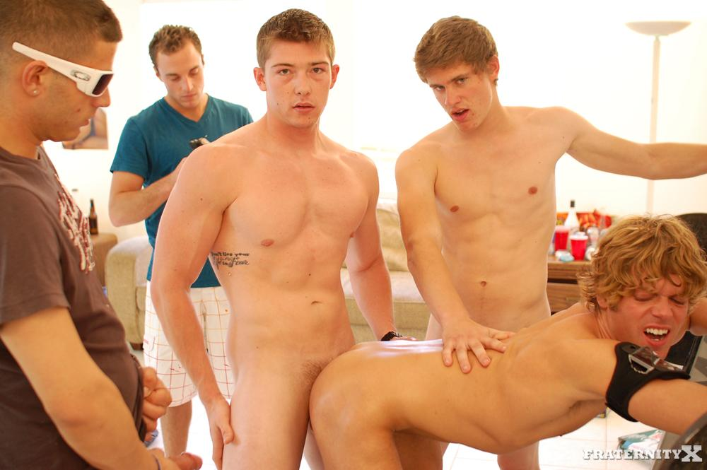 Fraternity X Cum Dump Frat Guys Fucking Bareback Amateur Gay Porn 17 Real Fraternity Brothers Finger Bang and Bareback A Pledge