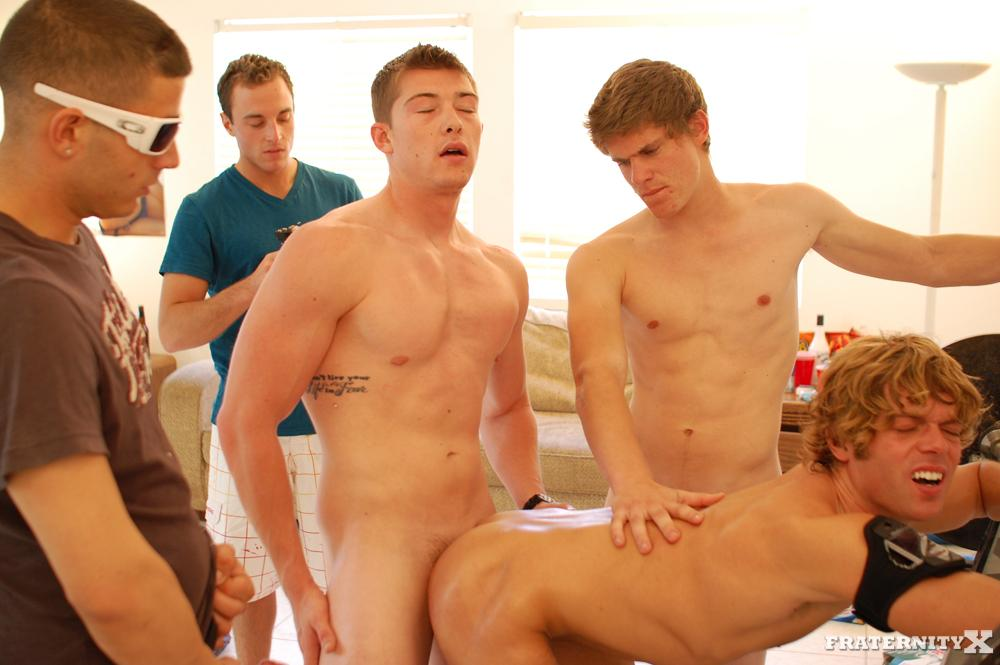 Fraternity X Cum Dump Frat Guys Fucking Bareback Amateur Gay Porn 18 Real Fraternity Brothers Finger Bang and Bareback A Pledge