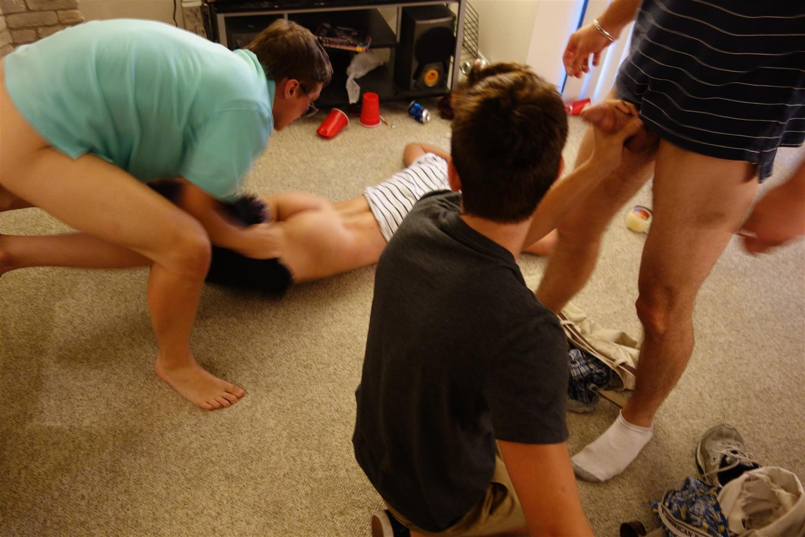 Fraternity X Drunk Frat Pledge Gets Barebacked While Passed Out Amateur Gay Porn 35 Drunk And Passed Out Frat Pledge Gets Fucked Bareback