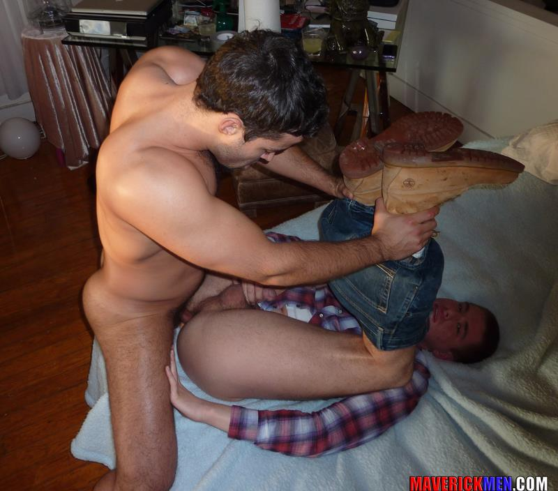 Maverick Men Hunter Tall Guy Gets Fucked Bareback Amateur Gay Porn 4 Young Tall Amateur Guy Gets Barebacked Hard By Two Hung Older Guys