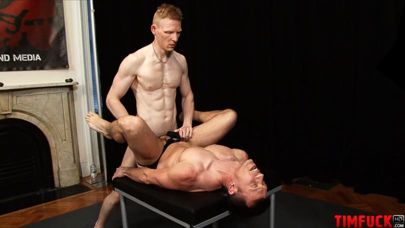 Treasure-Island-Media-TimFuck-ALEX-KAINE-and-ROB-YAEGER-Bareback-Fucking-Amateur-Gay-Porn-3 Rob Yaeger Shoves His Big Ginger Cock Up An Amateur Ass Bareback