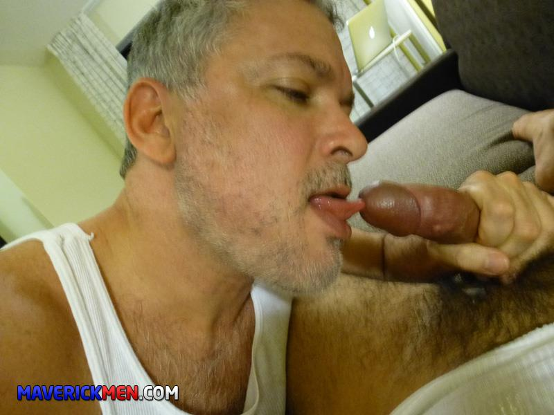 Maverick Men Grumpy Hairy Bear Gets Fucked By Two Big Daddy Cocks Amateur Gay Porn 1 The Maverick Men Bareback Tag Team A Hairy Bear Ass