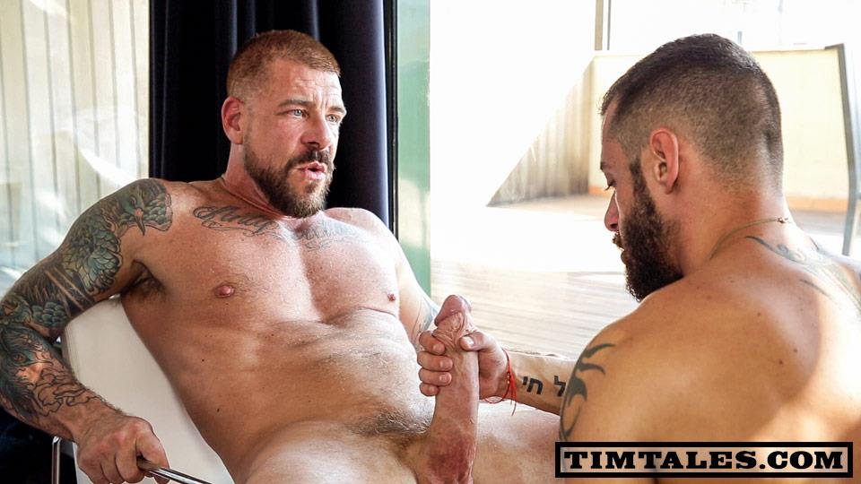 TimTales-Rocco-Steele-and-David-Avila-Muscle-Daddy-With-A-Huge-thick-Cock-bareback-Amateur-Gay-Porn-01 TimTales:  Rocco Steele and David Avila - Barebacking Hairy Muscle Daddy