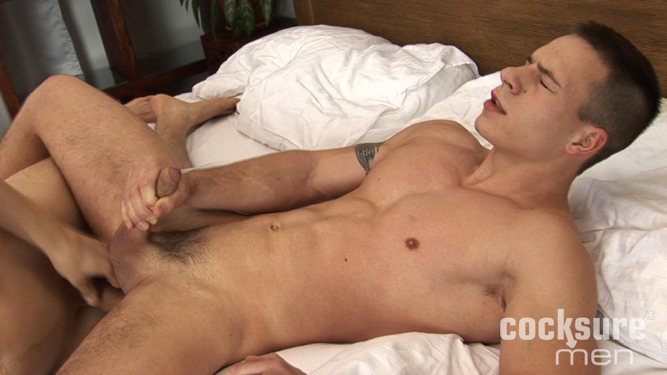 Cocksure-Men-Bobby-Gest-and-Dick-Keissie-Bareback-Jocks-Uncut-Cocks-Amateur-Gay-Porn-18 Young Athletic Jock Barebacking His Uncut Buddy