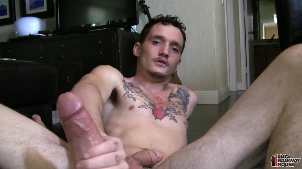 Boys-Halfway-Half-Wayne-Straight-Young-Prison-Thug-Gets-Barebacked-Amateur-Gay-Porn-23 Straight Halfway House Boy Takes A Cock Bareback And Gets Cum In The Face