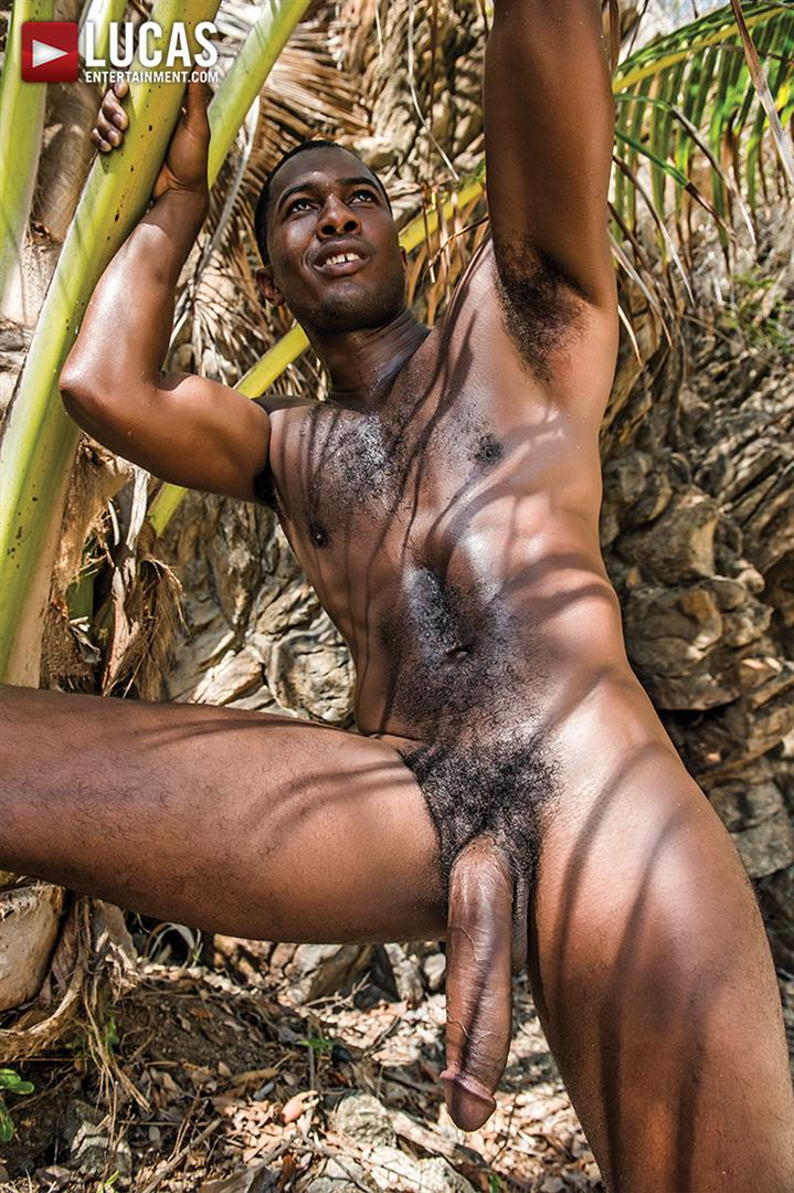 Lucas-Entertainment-Sean-Xavier-and-Mark-Edwin-Interracial-Bareback-Big-Black-Dick-Amateur-Gay-Porn-32 Getting Fucked Bareback By Sean Xavier's Big Black Cock