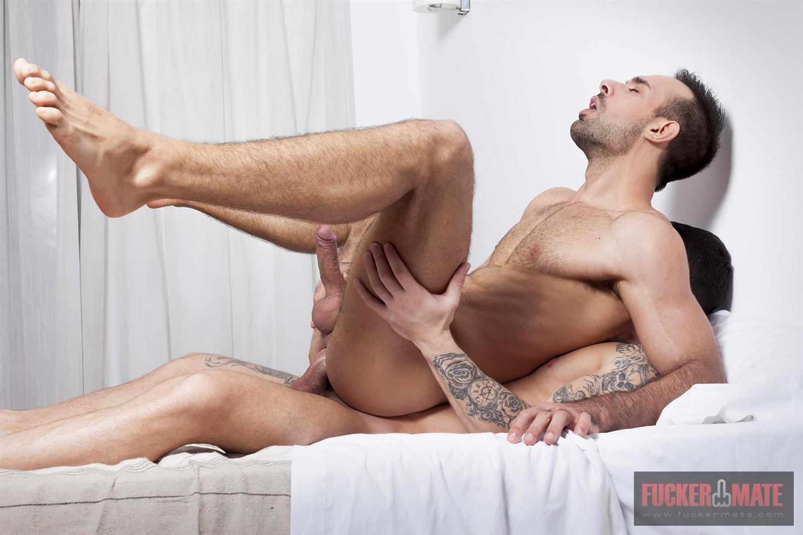 Fuckermate Alejandro Torres and Jonathan Forrest Big Uncut Cock Bareback Sex 09 Big Uncut Cock Italian Hunk Gets Fucked In The Ass Bareback
