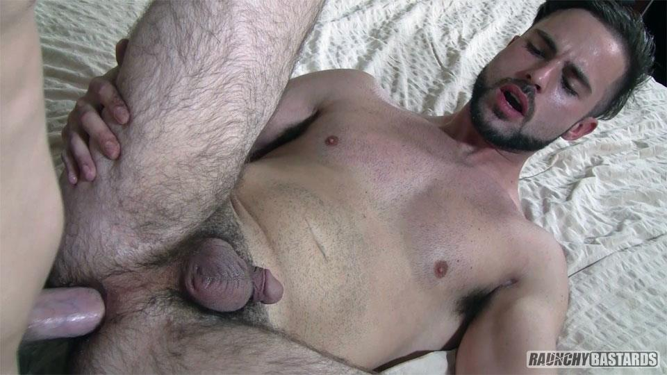 Raunchy-Bastards-Ethan-Brandt-and-Ash-McCoy-Straight-Guys-First-Time-Gay-Bareback-Sex-Video-07 Hairy Ass Straight Boy Takes A Raw Dick Up His Ass For The First Time