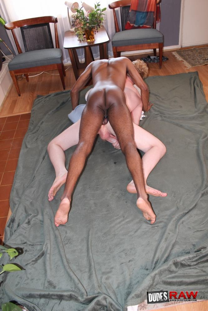 Dudes-Raw-Conrad-Daniels-and-Anthony-Wood-Interracial-Big-Black-Dick-Bareback-Sex-Video-10 Anthony Wood Barebacks Ginger Conrad Daniels With His Uncut Big Black Cock
